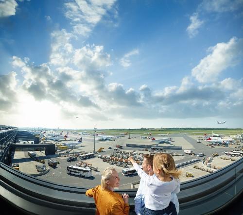 Besucherterrasse Flughafen VIENNA
